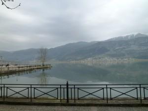 Seeblick in Ioannina